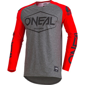 ONeal Mayhem Lite - Maillot manches longues Homme - Hexx gris/rouge